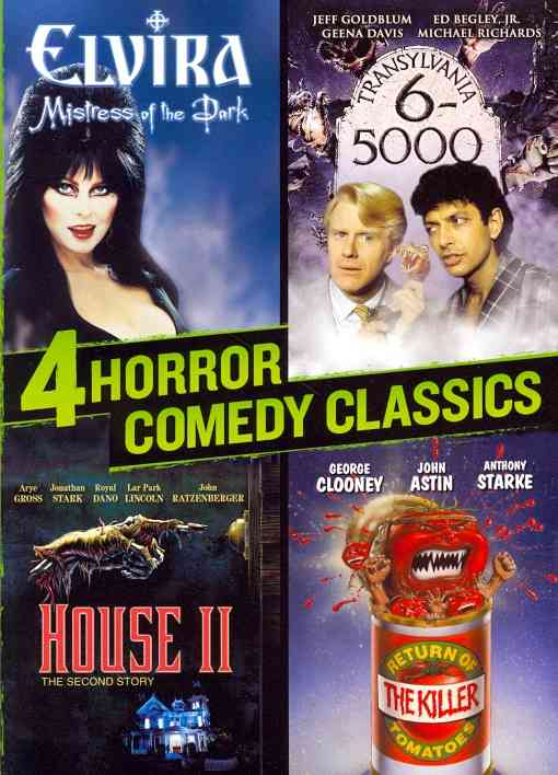 4 HORROR COMEDY CLASSICS BY GROSS,ARYE (DVD)